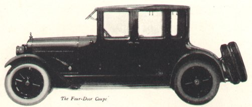 1921 LaFayette Four-Door Coupe