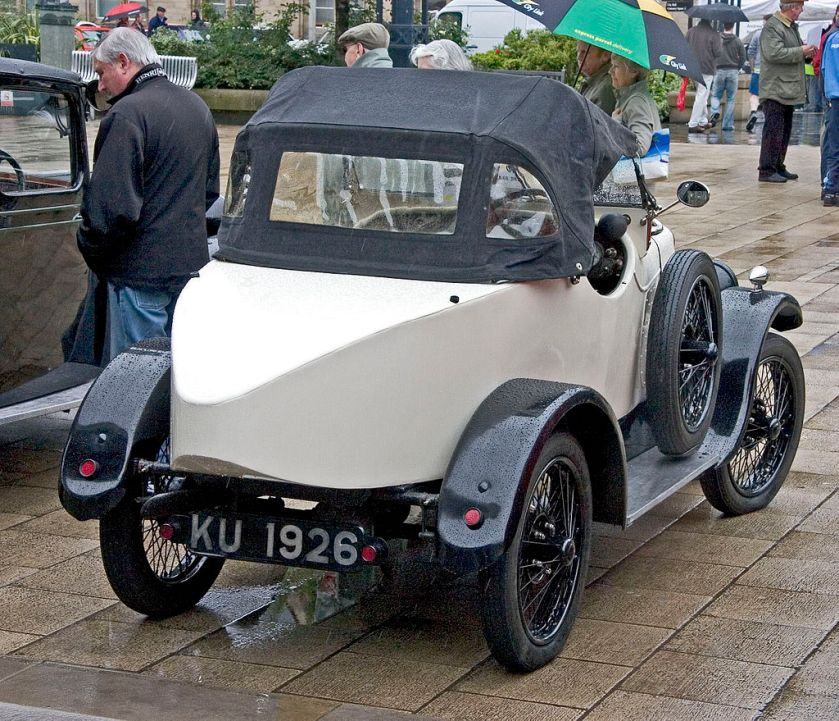 1923 Jowett Sports rear