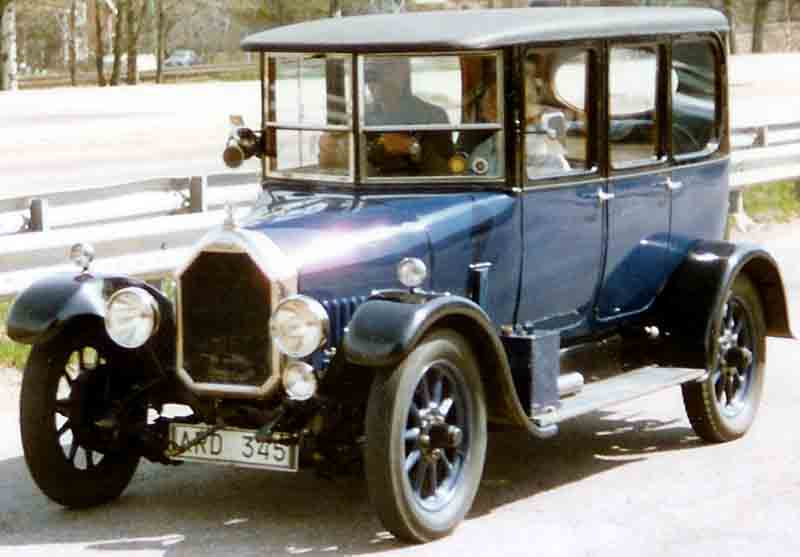 1924 Humber 11,4 HP Saloon