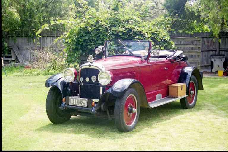 1925 Nash Roadster, 6 cylinder