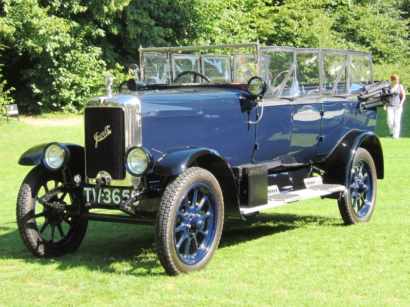 1926 Jowett 7hp Long 4