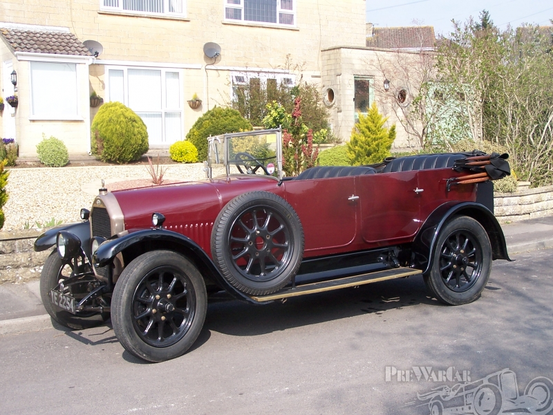 1927 Humber 14-40 All Weater Tourer 5-seat Tourer