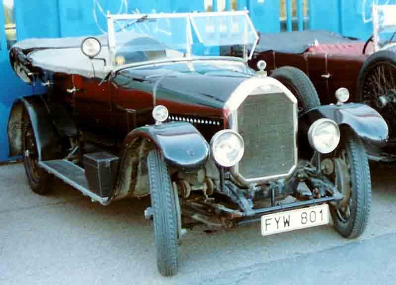 1928 Humber 14-40 HP Tourer
