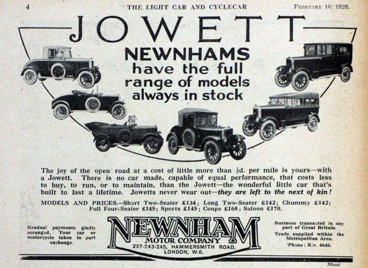 1928 Jowett