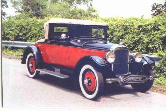 1928 Nash Standard Six, Cabriolet