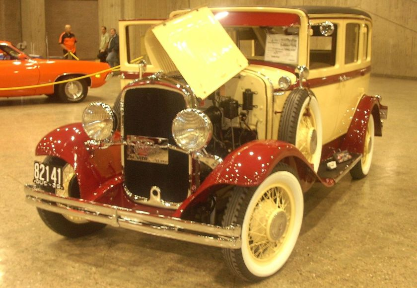 1929 DeSoto, the first model year of DeSoto