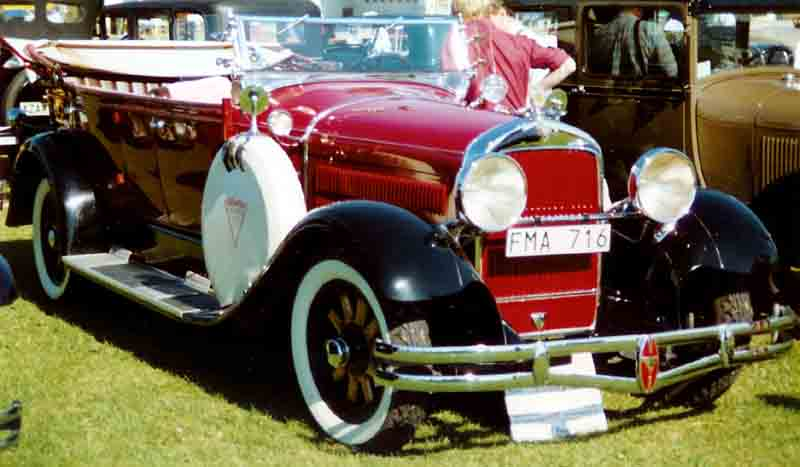 1929 Hudson Super Six Phaeton