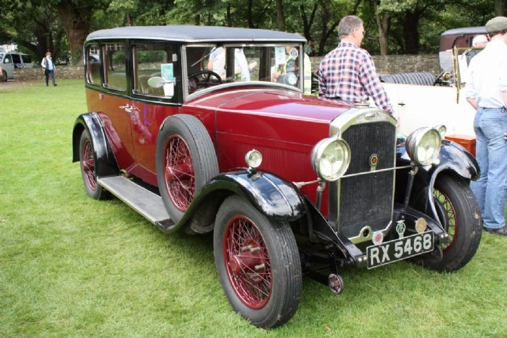 1929 Humber Maroon