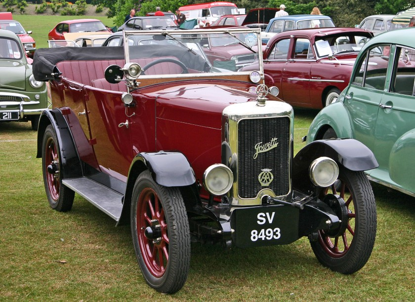 Jowett 7hp Long Tourer