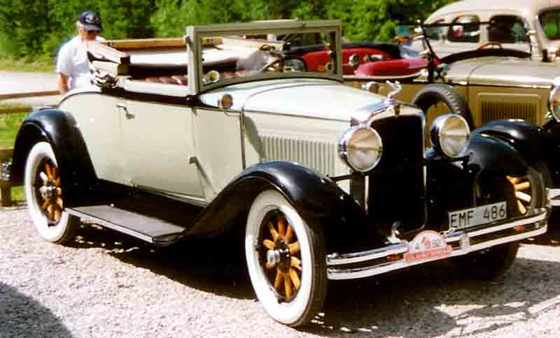 1929 Nash Standard Six Series 422 Convertible Coupé