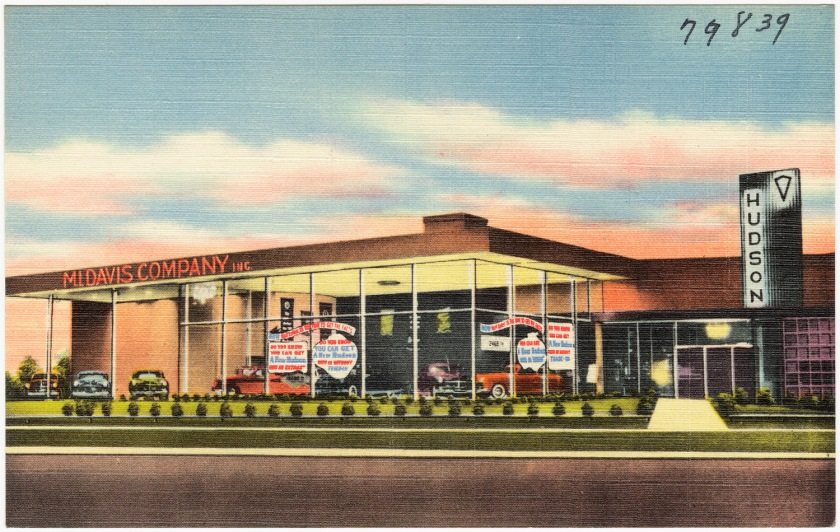 1930-1945 Hudson dealer in Louisiana, ca. 1930-1945