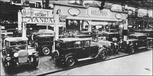 1930 hillman london olympia