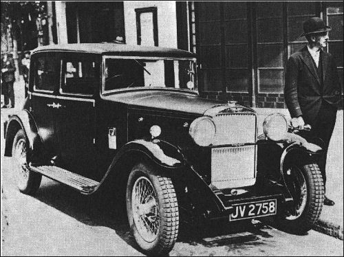 1930 hillman straight 8 saloon