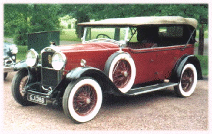 1930 humber 16 50
