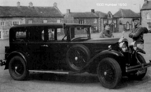 1930 Humber 16