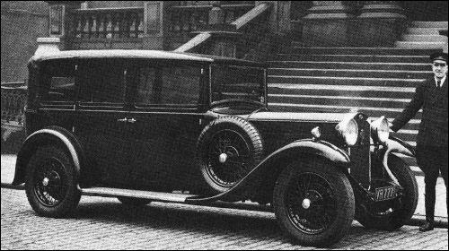1930 humber pullmann