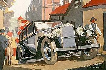 1930 humber reklama