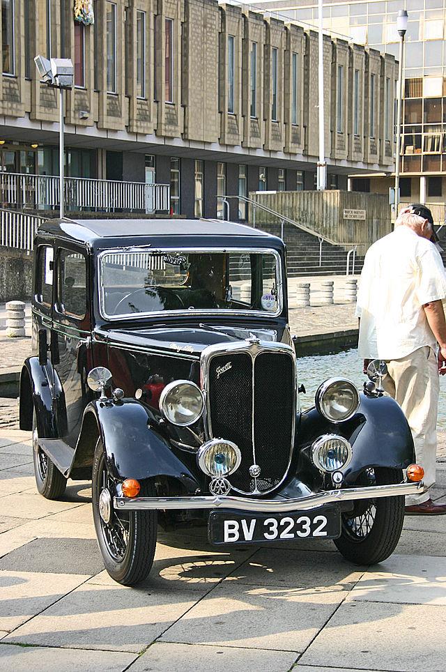 1930 Jowett 7HP front