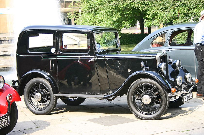 1930 Jowett 7HP side