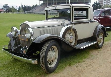 1931 De Soto Doctor's Coupe