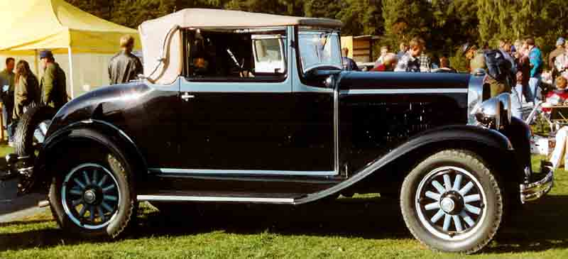 1931 De Soto Series CF Convertible Coupe