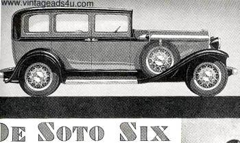 1931 de soto six sedan