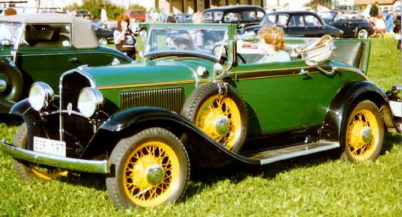 1931 De Soto UPE Six Convertible Coupé