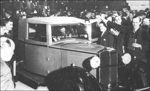 1931 hillman 75 coupe cabrio