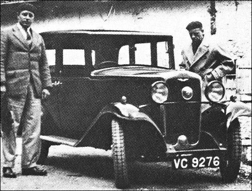 1931 hillman minx may
