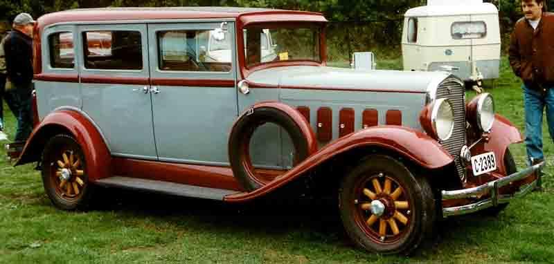 1931 Hudson 4-D Sedan