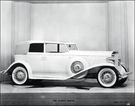 1931 hudson special 4-Door Sedan