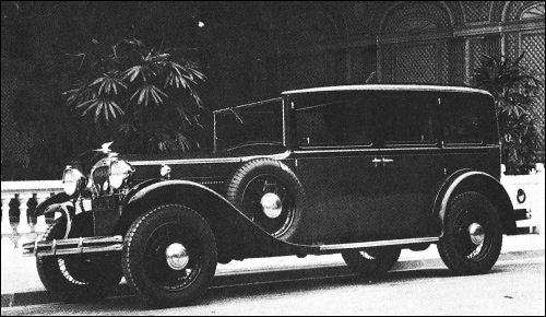 1931 humber pullman-bw