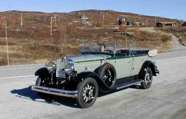 1931 Nash, Model 898, 8 Cylinder, Twin Ignition