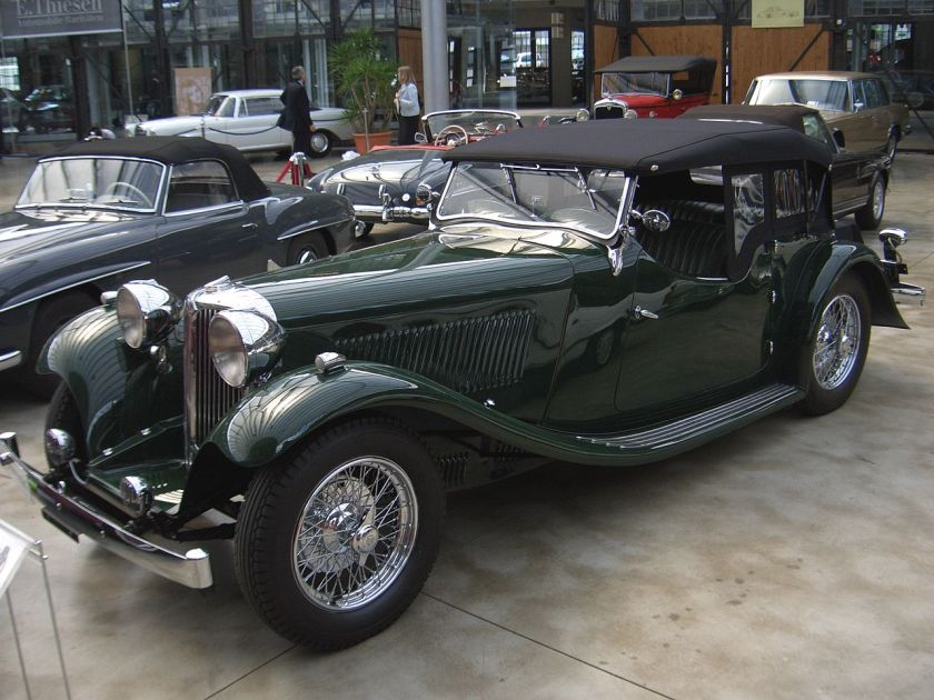 1932-36 Jaguar Standard Swallow SS-1 Tourer