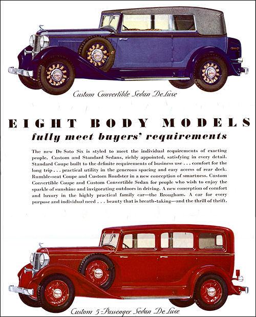 1932 de soto six