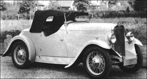 1932 hillman minx carbodies