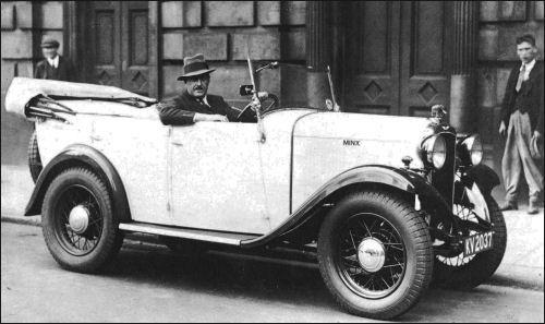1932 hillman minx tourer