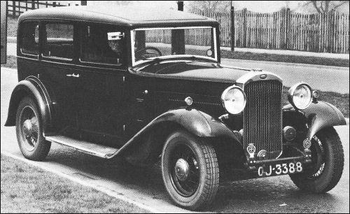 1932 humber pullman