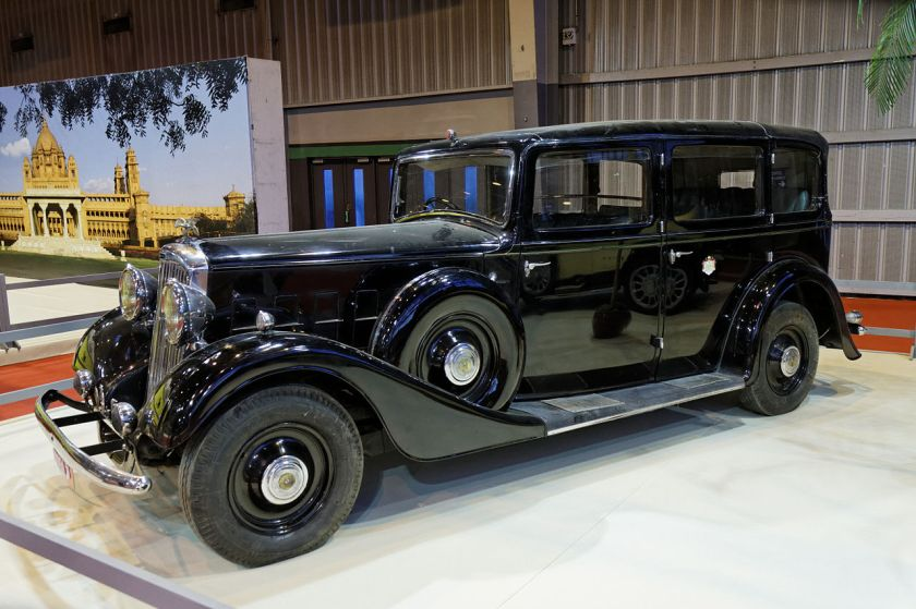 1932 Humber Snipe 80 Landaulette by Thrupp & Maberley a