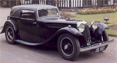 1932 Jaguar SS1 Fixed Head Coupe