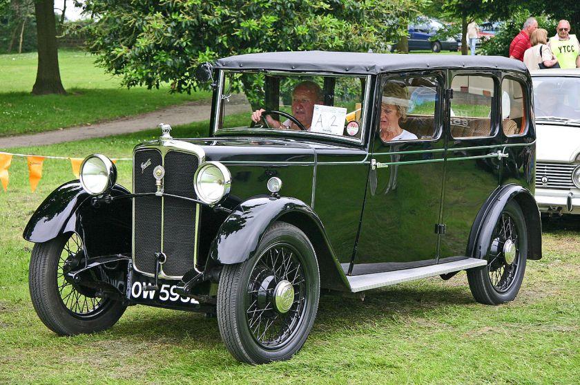 1932 Jowett Blackbird front