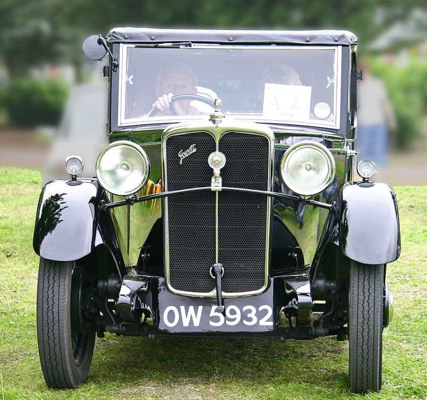1932 Jowett Blackbird head