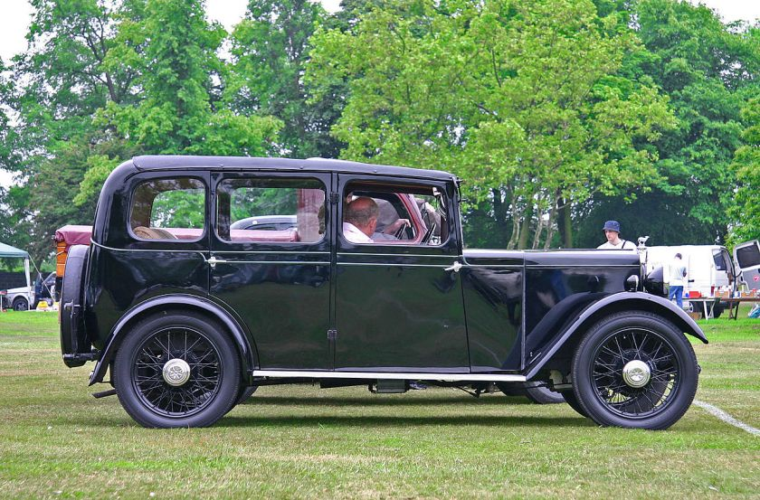 1932 Jowett Blackbird side