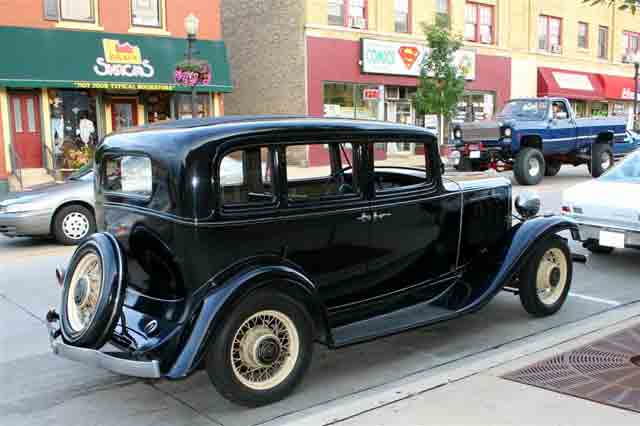 1932 Nash, Big Six, Model 1060, 5 passenger 4 Door
