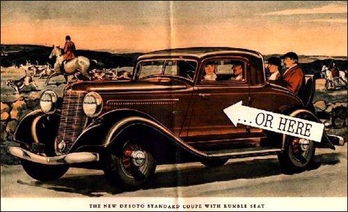 1933 de soto standard coupe
