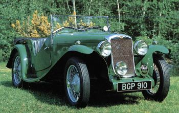 1933 hillman aero minx roadster