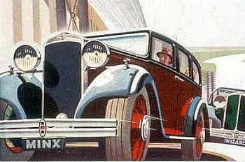 1933 hillman minx i wizard
