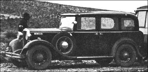 1933 hillman wizard saloon