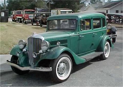 1933 Hudson Essex Terraplane
