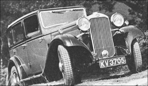 1933 humber 12 saloon